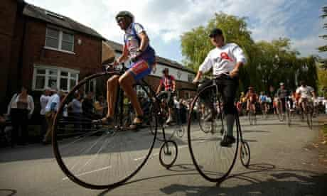 The Great Knutsford Penny Farthing Race