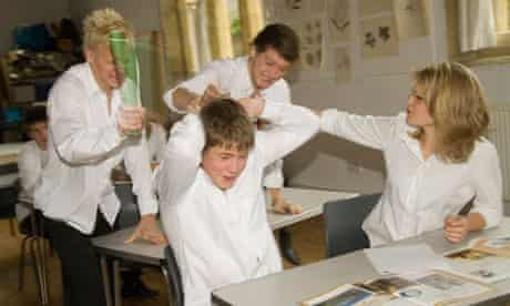 DIsruptive pupils in class