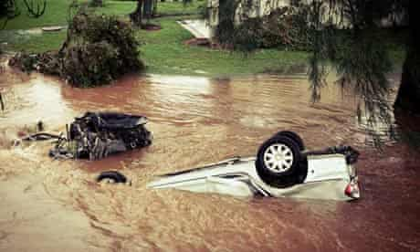 Flash Flooding Claims Lives In Queensland