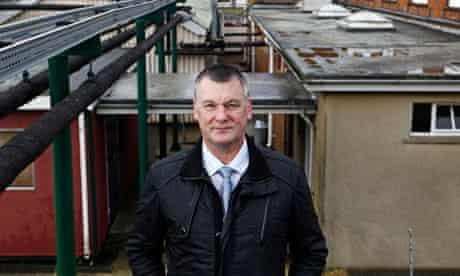Graham Batchford, the governor of North Sea Camp open prison in Lincolnshire