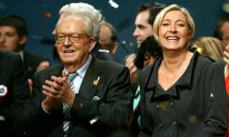 Jean-Marie Le Pen and Marine