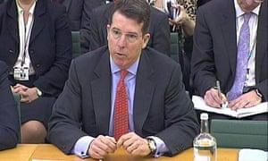 Bob Diamond faces Treasury Select Committee