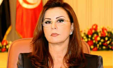 Leila Trabelsi, Tunisia's first lady