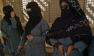 Afghan women training as polide officers