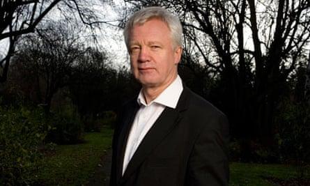David Davis, the former shadow home secretary.