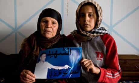 tunisia protester