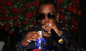 P Diddy at his Dirty Money party