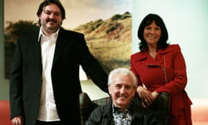 Tony Christie with his wife and son