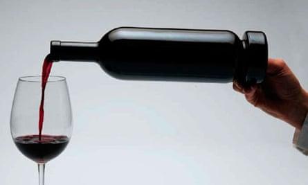 Wine bottle sediment