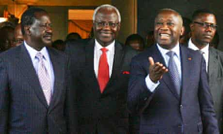 Crisis meeting in Abidjan, Ivory Coast