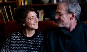Documentary filmmaker Doug Block with his daughter and film subject Lucy