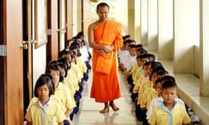 BUDDHIST MONK CHILDREN