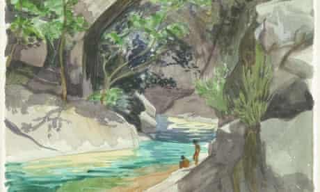 A Corsican landscape (detail) by Denis Healey