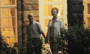 Released Britons Rachel and Paul Chandler