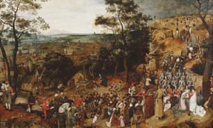 The Procession to Calvary by Brueghal the Younger