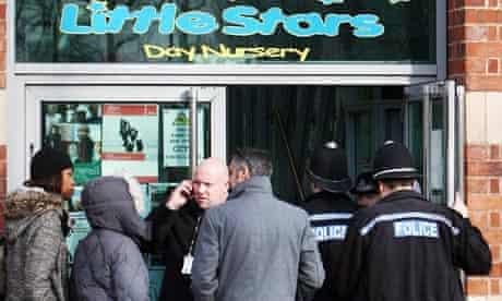 Police at Little Stars nursery in Birmingham
