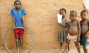 Angolan children