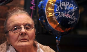 Claire Hollingworth celebrates her 100th birthday