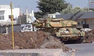 Syrian armoured vehicle