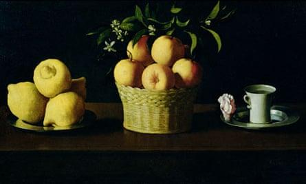 A detail from Still Life, by Francisco Zurbaran