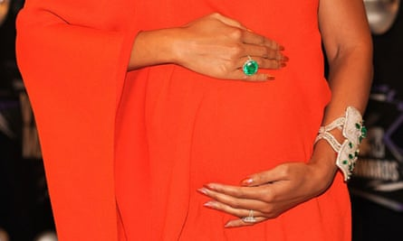 Beyoncé Knowles's bump, August 2011