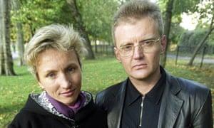 Alexander and Marina Litvinenko