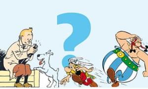 Tintin v Asterix