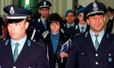 Patrizia Reggiani, ex-wife of Maurizio Gucci, Milan
