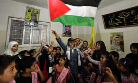 Wafa Al-Biss, a freed Palestinian prisoner