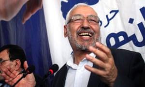 Tunisian politician Rachid Ghannouchi