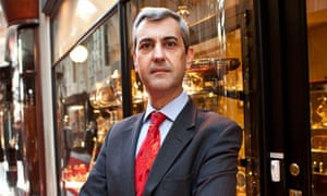 Daniel Bexfield has been told his shop will not 'fit the look' of the refurbished Burlington Arcade.