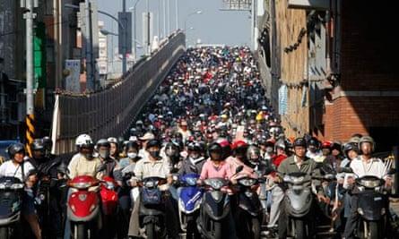 Tapei-motorbikes