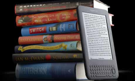 The Kindle 3 reader