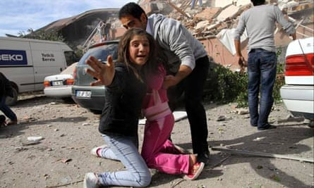 Earthquake in Turkey Oct 2011