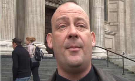 Dr Giles Fraser, Canon Chancellor of St Paul's Cathedral