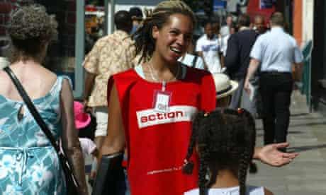 Chugger or charity mugger or street fundraiser