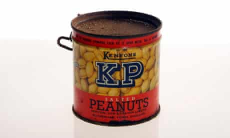 Peanuts from the vintage larder