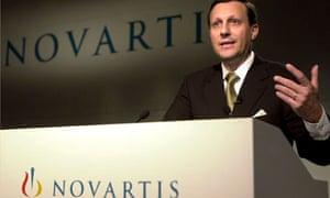 Daniel Vasella, Novartis CEO