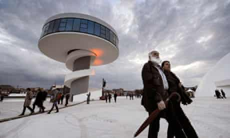 The Niemeyer Centre in Avilés, northern Spain
