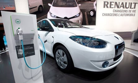 Renault Fluence ZE electric car