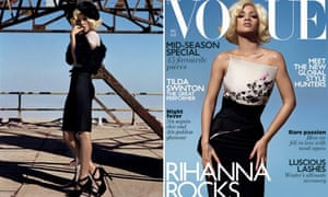 Rihanna on the cover of this November's Vogue