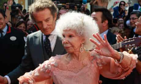 Duchess of Alba and Alfonso Diez
