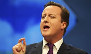 David Cameron Conservatives party Conference Manchester