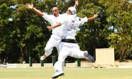 Compton cricket club during their Australian tour, 2011