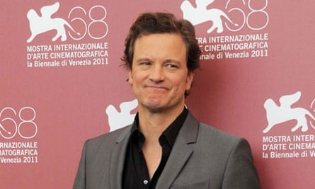 Colin Firth is recording an audiobook of Graham Greene's The End of the Affair