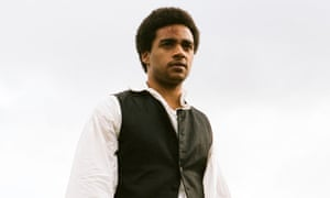 James Howson as Heathcliff in the new film version of Wuthering Heights