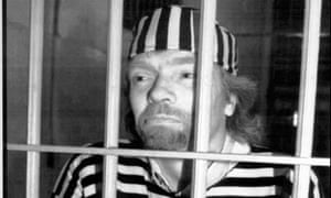 Richard Branson behind bars in a publicity stunt