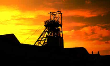 Blaenavon coal mine in Wales