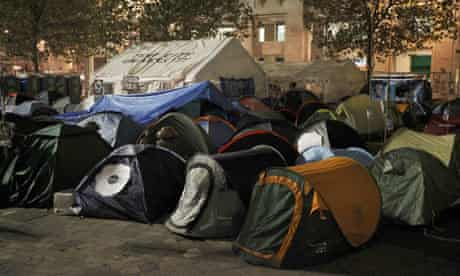 Occupy London Stock Exchange camp