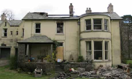 Allan Bank, Grasmere, following the fire in March 2011